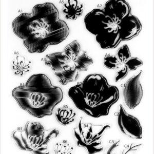 Altenew, Zig Zag Floral stamp set, Australia