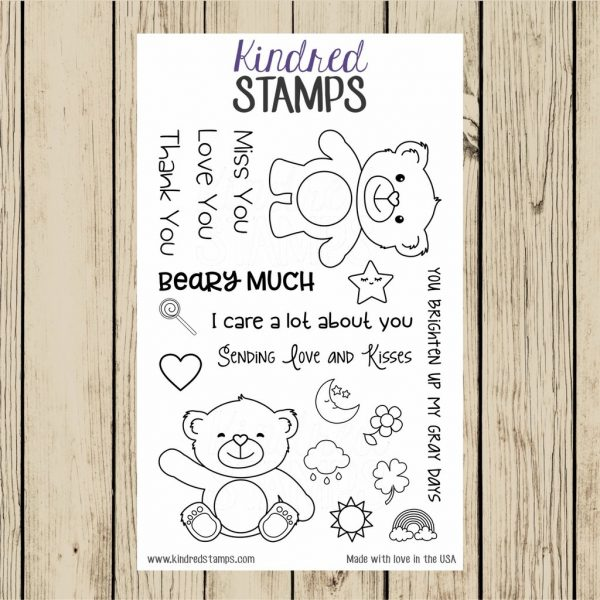 Kindred Stamps, Bears With Feelings stamp set, Australia
