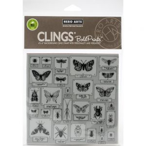 Hero Arts, Bug Collection stamp set, Australia