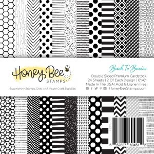 Honey Bee Stamps, Back To Basics 6x6 paper pad, Australia