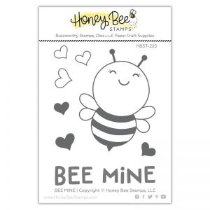 Honey Bee Stamps, Bee Mine stamp set, Australia