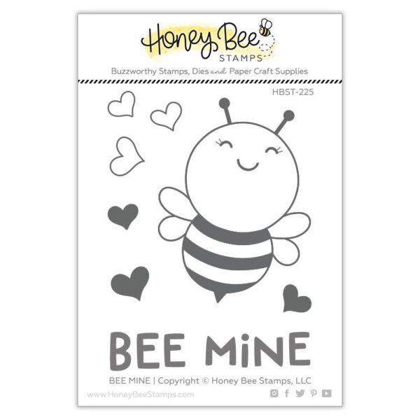 Honey Bee Stamps, Bee Mine stamp set, Australia