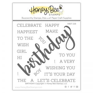 Honey Bee Stamps, Birthday stamp set, Australia