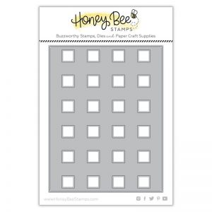 Honey Bee Stamps, Buffalo Plaid cover plate die, Australia