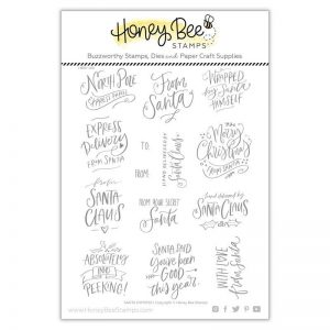Honey Bee Stamps, Santa Express stamp set, Australia