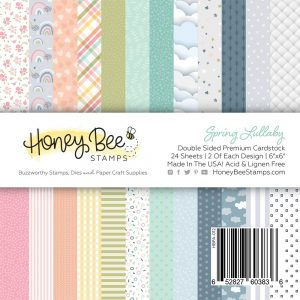 Honey Bee Stamps, Spring Lullaby 6x6 paper pad, Australia