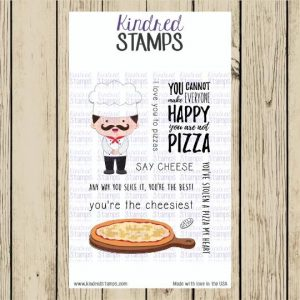 Kindred Stamps, National Pizza Day stamp set, Australia