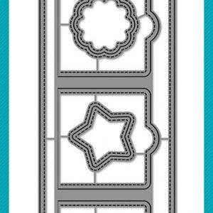 Lawn Fawn, Small Slimline with Lift the Flaps die set, Australia
