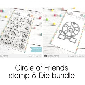Mama Elephant, Circle of Friends stamp & die bundle, Australia