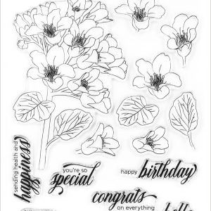 Altenew, Bergenia Builder stamp set, Australia