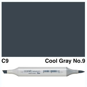 Copic C9 Sketch Marker, Australia