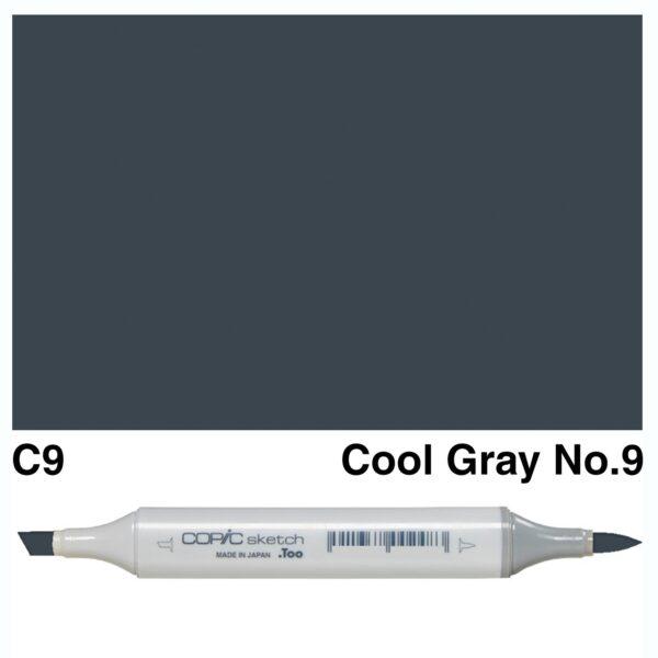 Copic C9 Sketch Marker, Australia