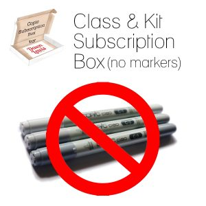 Class & Kit Subscription Box graphic square