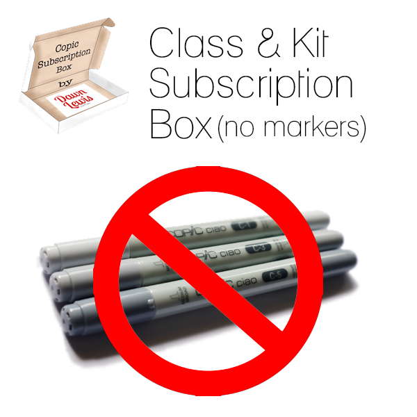 Class & Kit Subscription Box graphic square