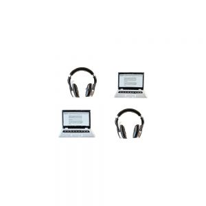 Eyelet Outlet, Laptop & Headphone shaped brads, Australia