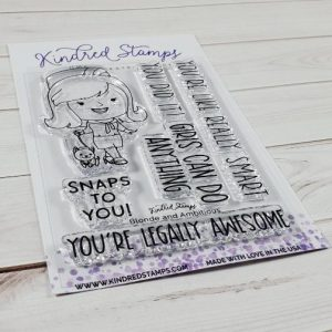Kindred Stamps, Blonde & Ambitious stamp set, Australia