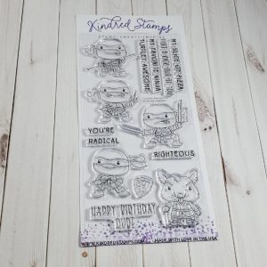 Kindred Stamps, Turtley Awesome stamp set, Australia