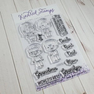 Kindred Stamps, We Are Family stamp set, Australia