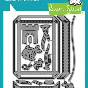 Lawn Fawn, Build-An-Aquarium die set, Australia