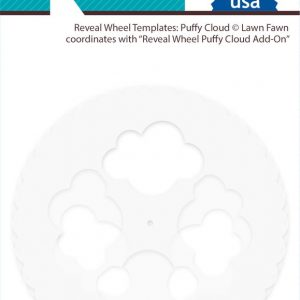 Lawn Fawn, Reveal Wheel Template, Puffy Cloud, Australia