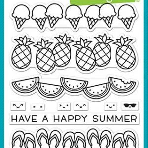 Lawn Fawn, Simply Celebrate Summer stamp set, Australia