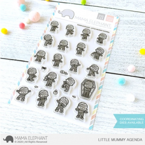 Mama Elephant, Little Mummy Agenda stamp set, Australia
