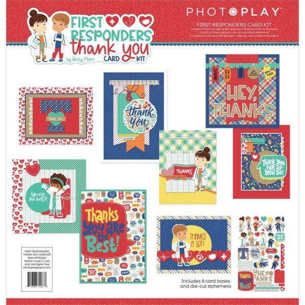 PhotoPlay, First Responders card kit, Australia