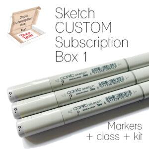 Sketch Custom Subscription Box 1, Australia