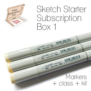 Sketch Starter Subscription Box 1, Australia