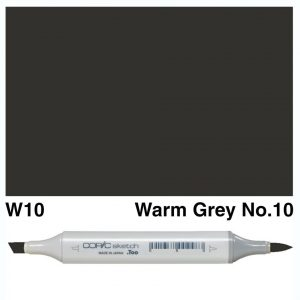 Copic W10 sketch marker, Australia