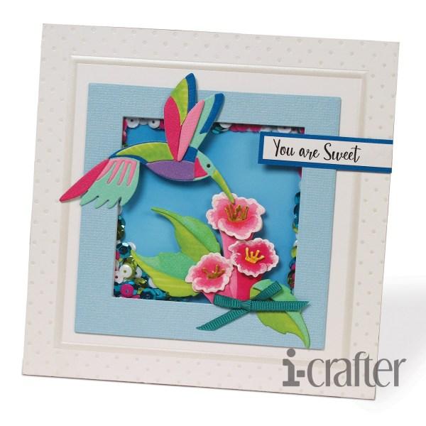 i-Crafter, Hummingbird Happiness die set, Australia