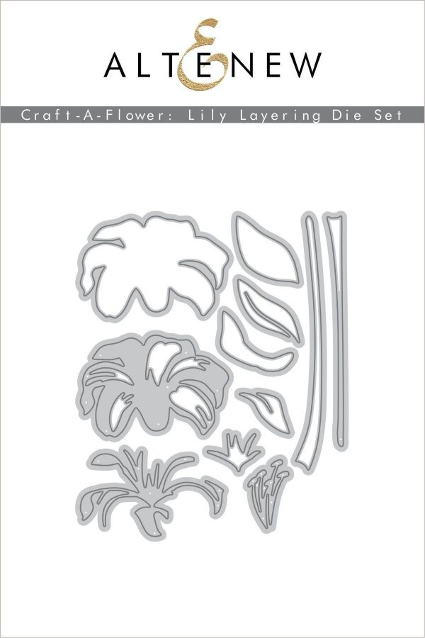 Altenew, Craft A Flower Lily die set, Australia