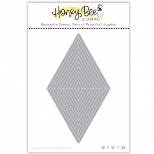 Honey Bee Stamps, Diamond Thin Frames die set, Australia