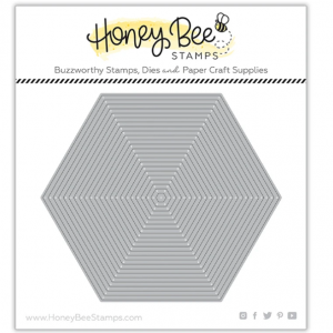 Honey Bee Stamps, Hexagon Thin Frames die set, Australia