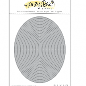 Honey Bee Stamps, Oval Thin Frames die set, Australia