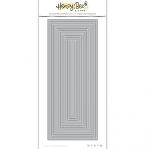 Honey Bee Stamps, Slimline Thin Frames die set, Australia