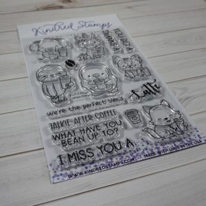 Kindred Stamps, Coffee Crew stamp set, Australia