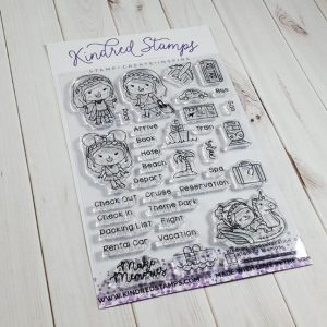 Kindred Stamps, Kindred Plans Vacations stamp set, Australia