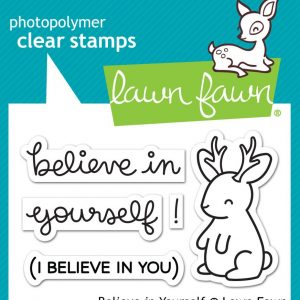 Lawn Fawn, Believe in Yourself stamp set, Australia