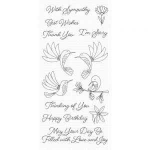 MFT, Hummingbirds stamp set, Australia