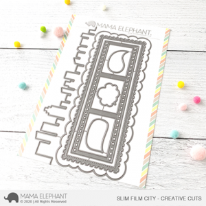 Mama Elephant, Slim Film City die set, Australia