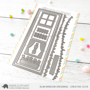 Mama Elephant, Slim Window Dressing die set, Australia