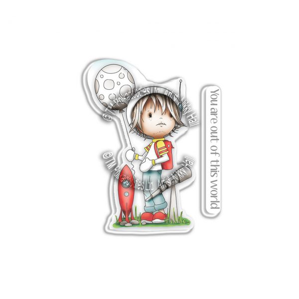 Polkadoodles, Little Dudes Astronaut stamp set, Australia
