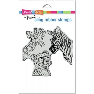 Stampendous, Safari Sighting stamp set, Australia