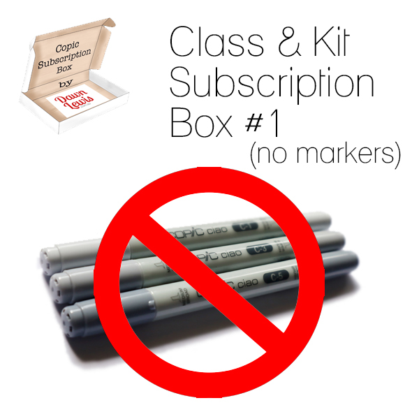 Subscription Box Class & Kit box 1