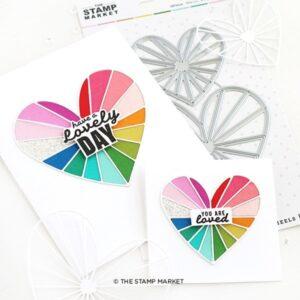The Stamp Market, Pieces of My Heart die set, Australia