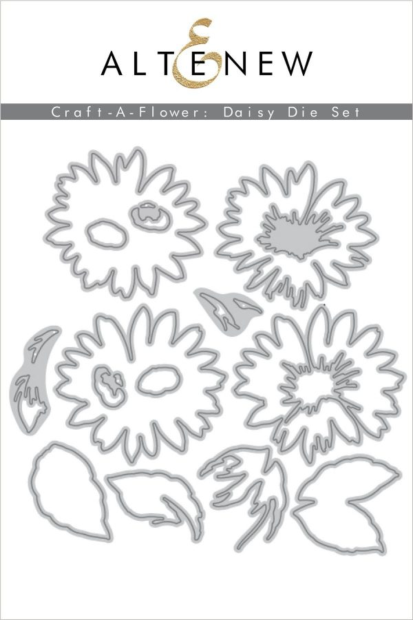 Altenew, Craft A Flower Daisy layering die set, Australia