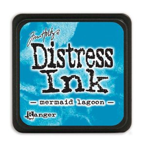 Distress Ink Mini Mermaid Lagoon