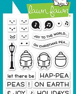 Lawn Fawn, Peas On Earth stamp set, Australia