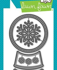 Lawn Fawn, Shutter Card Snow Globe add-on die set, Australia